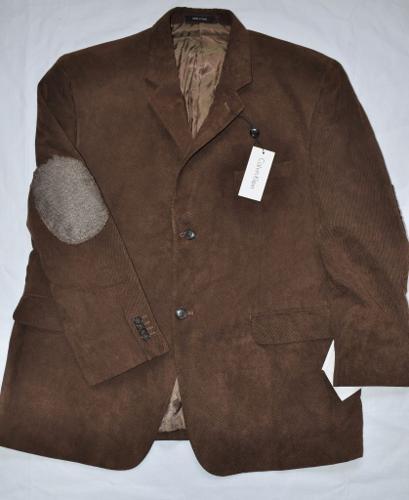 Elegant velvet sport coat by Calvin Klein Sz. US44 New!