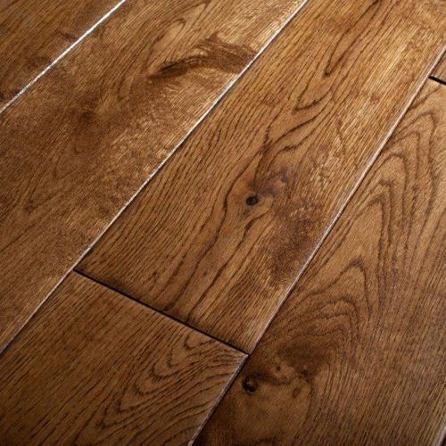 Emperor Golden Oak Hand Scraped flooring