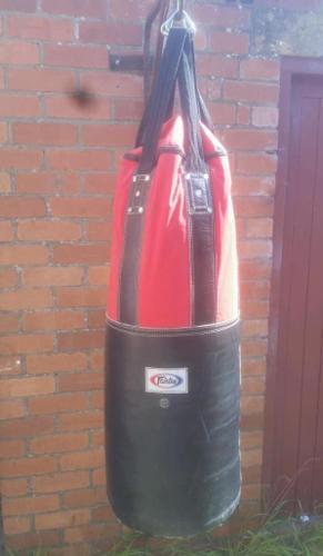 Fairtex punch bag 100cm in length