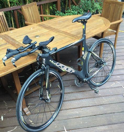 Felt Time Trial triathlon bike