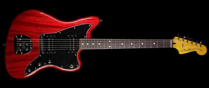 Fender Jazzmaster Modern Player Wine Red