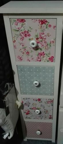 Floral drawer