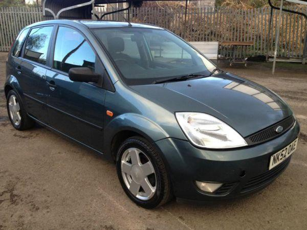 Ford Fiesta Zetec 1.4i, 02/52 Reg, MOT 11 March 2015,