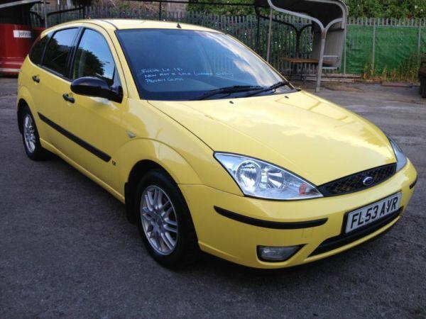 Ford Focus LX 1.8i, 2003/53 Reg, BRAND NEW MOT With