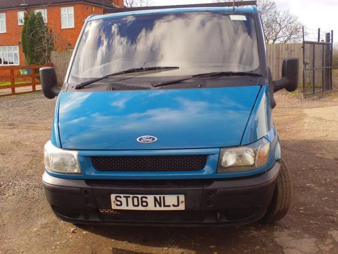 ford transit 85ps t260 turbo diesel 06 reg 12 month mot