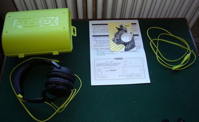 Fostex TH-5 Headphones virtually unused