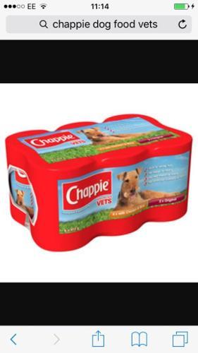 Free chappie dog food