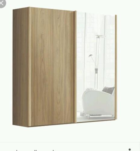 Free standing sliding wardrobe