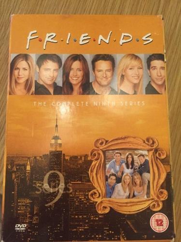 Friends series 9 DVD Boxset