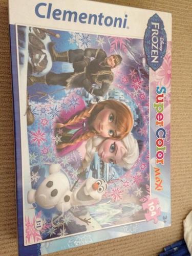 Frozen 104 price jigsaw