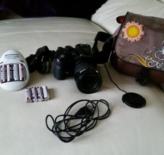 Fuji film professional camera.