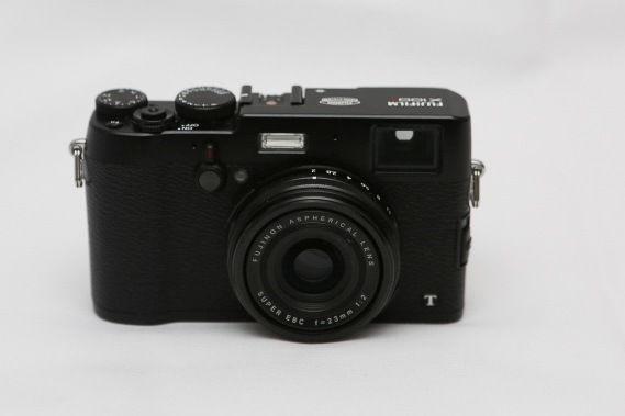 Fujifilm x100t mirrorless digital camera - black