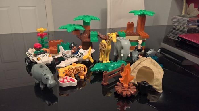 Genuine Rare Lego Duplo Safari/Jungle Set