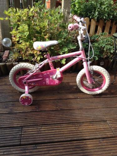 Girls 12inch Princess bike