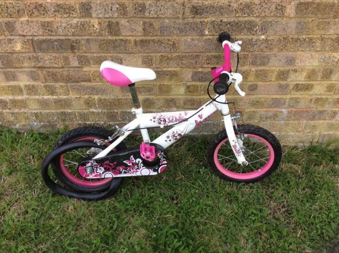Girls bike for age 3-5