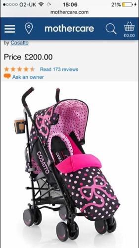Girls stroller