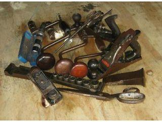 Good Job Lot of Old Quality Tools including Old Stanley