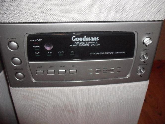 Goodman Floor Standing Speakers, Model ghc 60, 60 watt