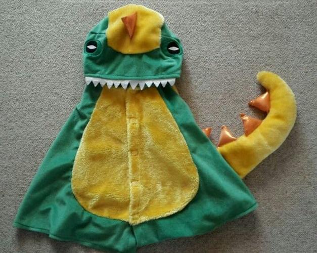 Gorgeous dinosaur dressing up costume - age 18-36