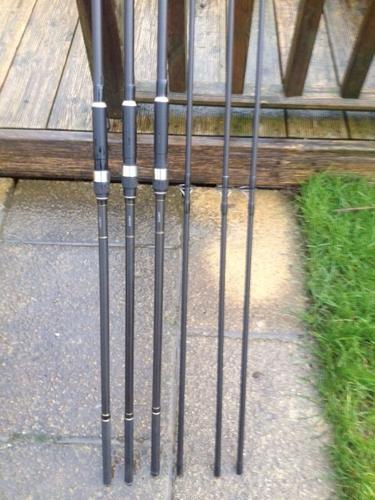 Greys Prodigy carp rods x 3