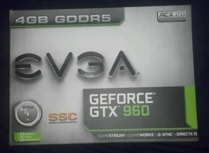 GTX 960 EVGA SSC 4GB