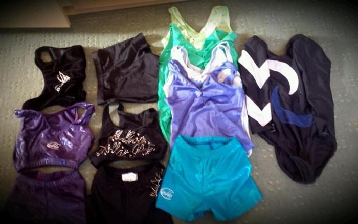 Gymnastic leotard bundle size 28