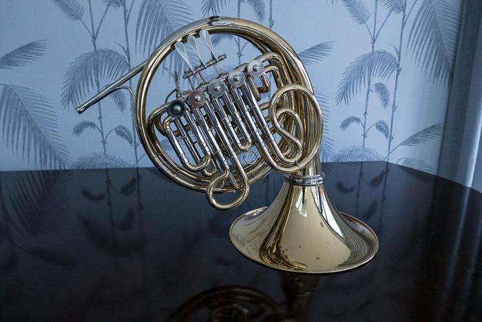 Hans Hoyer Meister 803 F/Bb full double horn with
