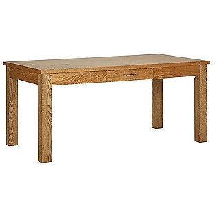 Heart of House Farnham Oak Veneer Dining Table with