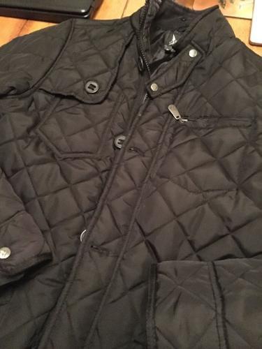 Henleys mens coat size Large