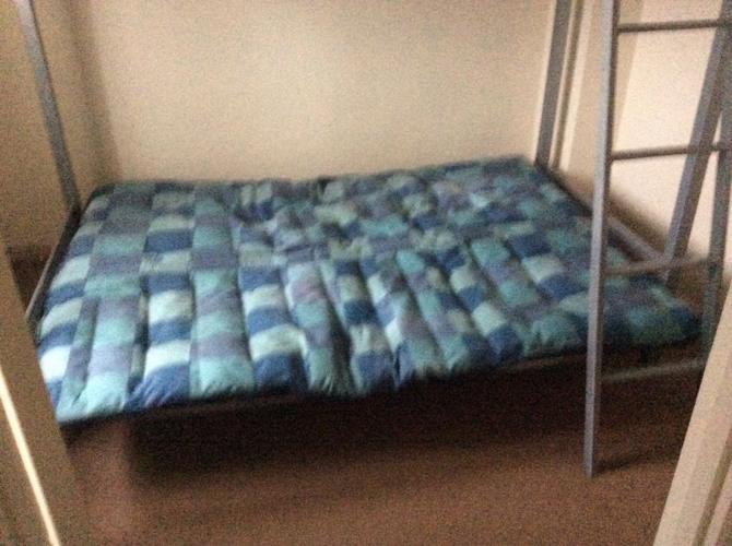 Hi sleeper & Double futon