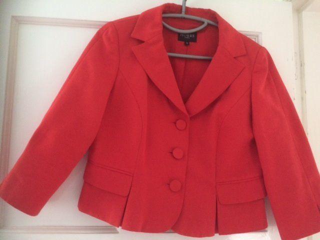 Hobbs jacket size 12