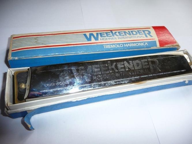 Hohner 'weekender' tremolo harmonica