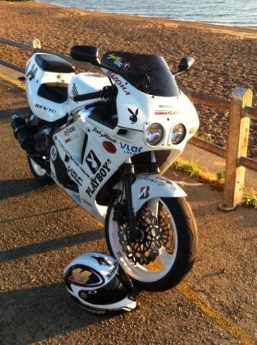 Honda CBR 400 NC 23 Triarm classic sports bike
