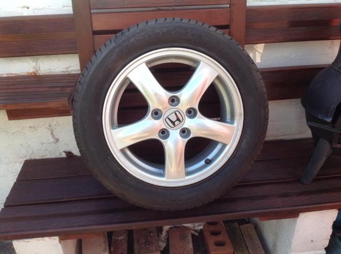 Honda Civic 16 inch Alloy Wheel & 205/55 R16 Tyre