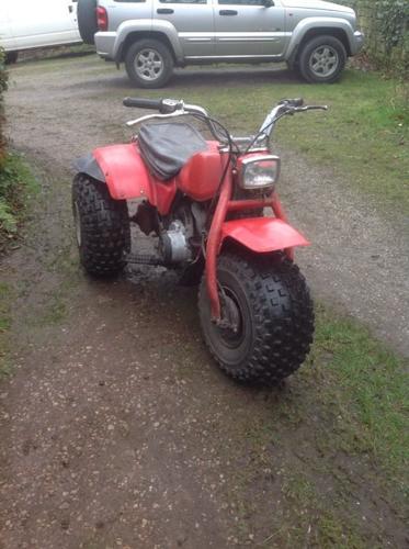 Honda trike atc quad bike 185cc