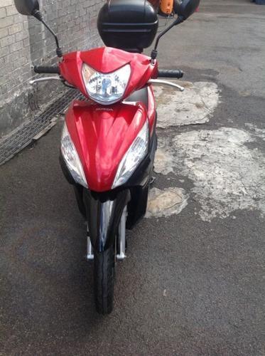 Honda Vision NSC110 2013 1 YEAR MOT -- RED & BLACK ONLY