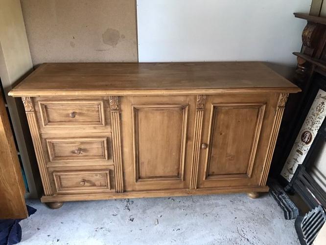 Hungarian solid wood sideboard