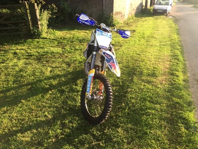 Husqvarna tc 125 motocross bike not ktm sx rm kx YZ CR