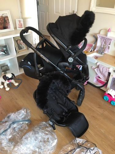 Icandy double plus car seat