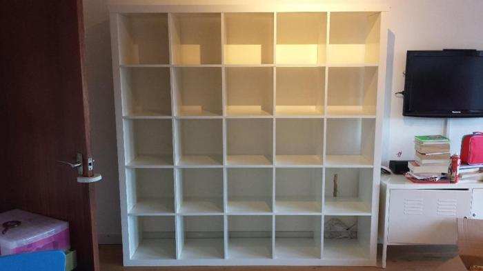 Ikea Expedit 5x5 shelving unit in white (now called