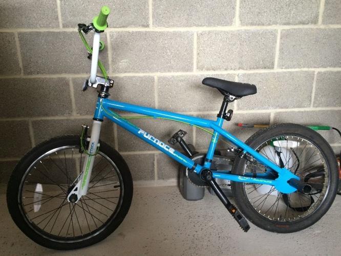 Immaculate bmx bike
