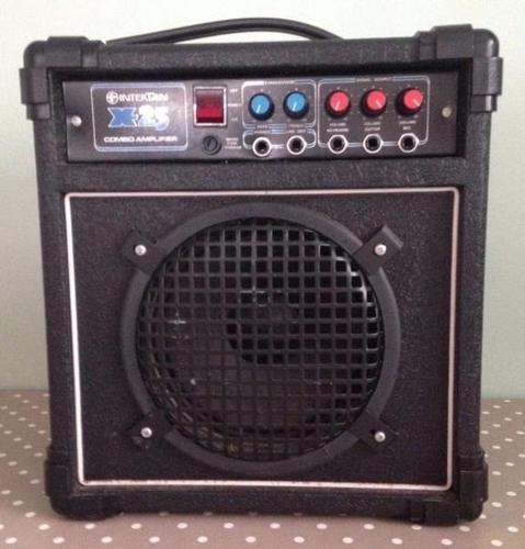 INTERTAN X25 COMBO AMPLIFIER GUITAR KEYBOARD VOCAL