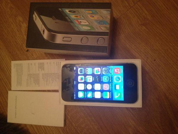 Iphone 4 16gb black in box