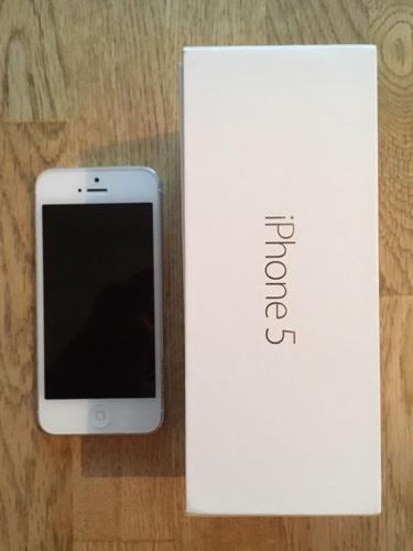 iPhone 5. £100
