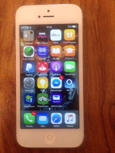 iPhone 5 16gb unlocked good condition