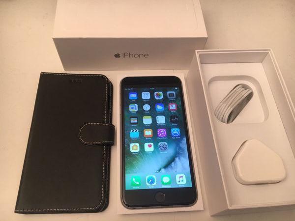 iPhone 6 Plus - factory unlocked - mint