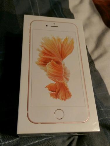 IPhone 6s, 16gb, Rose Gold, Unlocked