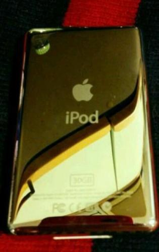 IPod 5th gen upgraded hard drive 128gb black