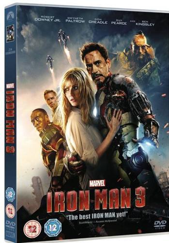 Iron man 1-3 dvds