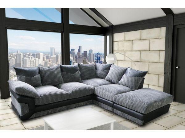 ItaLiAN Jumb0 C0rd Fabric -- Brand NEw DinO COrner SOfa